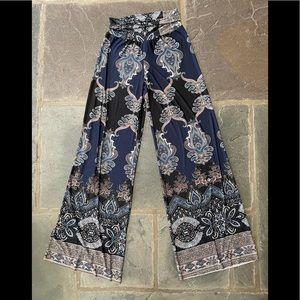 J Uptown Boho fold over pants S